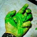 Почему кровь может быть зелёной?