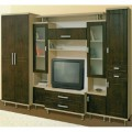Как обновить старую мебельную стенку?
