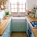 Как сэкономить место на маленькой кухне?
